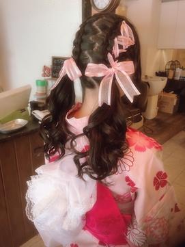 ribbon×yukata