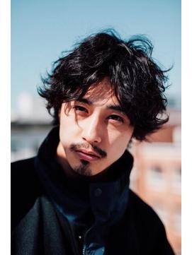 マッシュウルフ/サイドグラデーション/ツイストパーマ【恵比寿】