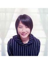 前髪アシメショート 入学式.45