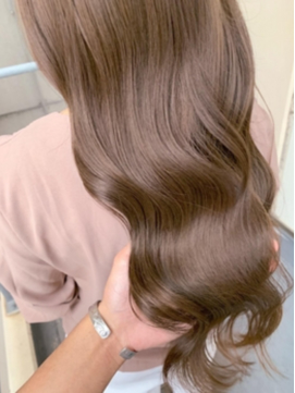 【Zina渋谷】 髪質改善*エアリーミディ*クリーミーベージュ