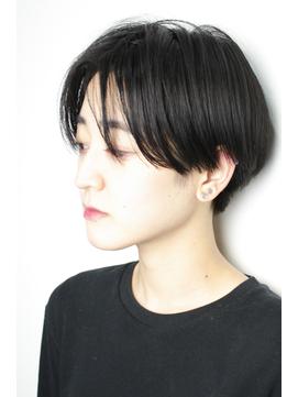 「センターパート で イメチェン ショート」牧田じゅん vo6