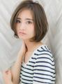 【ROMA】30代40代50代人気◎ひし形シルエット小顔エッジショート