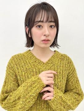 【中野莉子】ぱつっと外ハネボブ3
