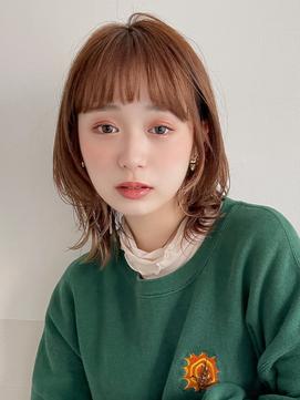 【HONEY表参道】垢抜け感◎オレンジウルフ(福島大生)