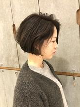 外国人風スタイル×透け感マットアッシュ.59