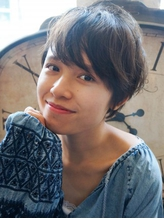 【Flor_上大岡】*エアリーショート+チャコールアッシュ*.29