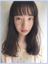 シースルーバング ゆるふわ巻き【LARRY BY BALLOON HAIR】.2