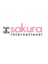 ヘアアンドフェイス サクラインターナショナル(hair&face sakura international)