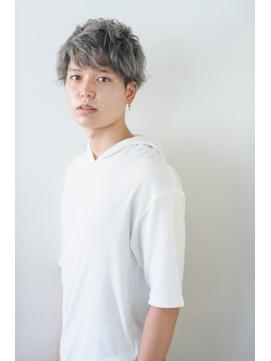 【Aries南富山/富山市】イケてるメンズのクセ毛風パーマ