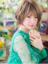 *bliss北浦和*ハイトーン☆くせ毛風ゆるウェーブ小顔ショートa.32