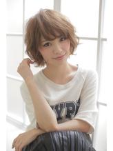 【Lee Vita】カジュアルボブ♪ ブラウンアッシュ.4