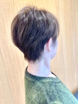 50代60代70代 くせ毛カット くびれヘア -名古屋の美容室actif-