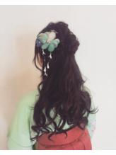 【バラディンズ】袴ハーフアップ1 .38
