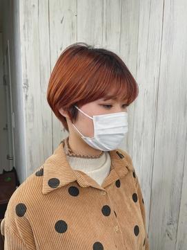 人気の暖色系☆オレンジカラー