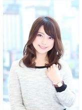 男性の弱点!?流し前髪×ふんわりパーマのモテカワミディ☆ 男性.54