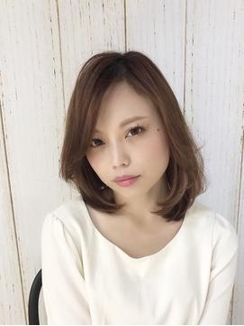 【FORTE 銀座 小林】大人ワンカールミディアム★重め前髪