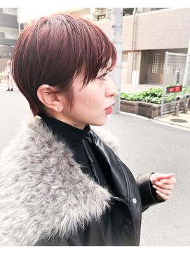 【un le pont西梅田】お客様スタイル♪ハンサムショート