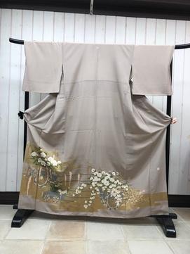 色留袖-10 ¥14000(着付料込み)