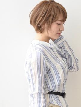 [K-two]大人ヘルシーショート/シースルーバング[天王寺/阿倍野]