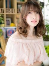 *+COVER HAIR+*…ナチュラル・色っぽ・セミディa くびれカール.24