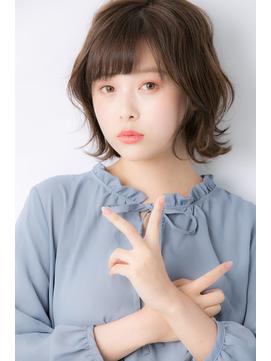 【Euphoria 小顔】ふんわり外ハネボブ 担当 渋谷
