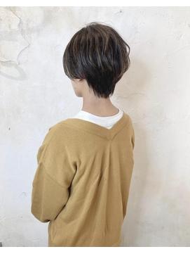 【Reir 吉祥寺】*ハンサムショート+プラチナアッシュ*