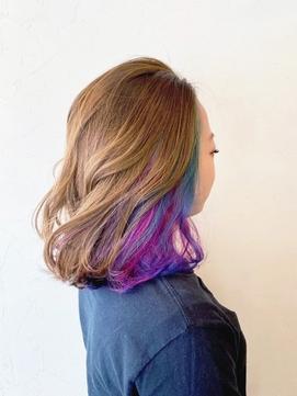 インナーユニコーン/透明感/トレンド/カラー/艶髪トリートメント