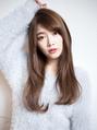 【EIGHT new hair style】小顔ベールウェーブ★ブルージュ