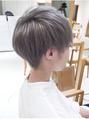 【DAYS表参道】 ツーブロック3Dカラー刈り上げショートボブ