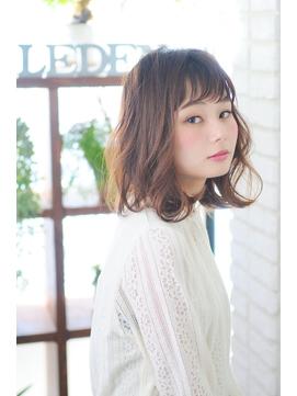 【RELEDEN/川越】ひし形シルエットロブ