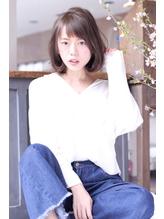 Ameri 柏 透明感あふれるシースルーボブ☆ シュシュ.48
