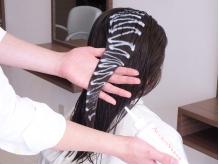 【髪質改善ヘアエステ】でごわつく髪が驚くほど柔らかくしっとりした指通りに♪クセ毛も綺麗にまとまります