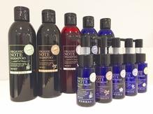 天然植物性原料をベースに髪と頭皮に優しい商品。人気です!
