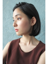 "【Salt大名】""bojiko""でツヤ束×かきあげボブ1.23"