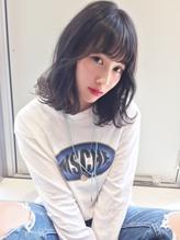 AXIS【naya's style】オルチャンシースルーバングキンタンバル まとめ髪.59