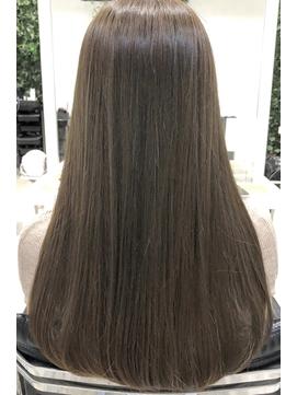 ◆◇美髪マットベージュナチュラルロングヘア◇◆