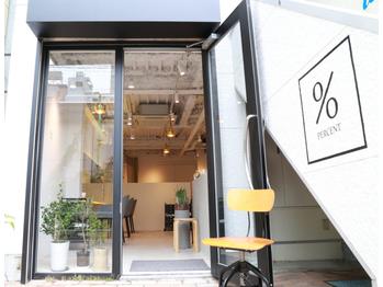 パーセント(% percent)(東京都渋谷区)
