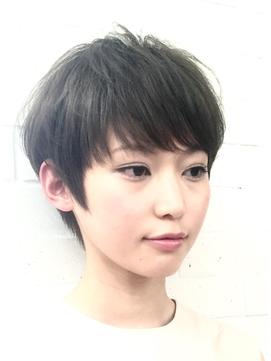 【小顔カット/三畑賢人】30代40代の大人に似合うショートカット