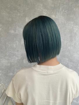 ネイビーカラー/人気急上昇中☆20代オススメ髪質改善/東久留米