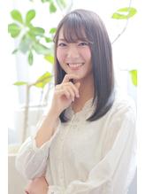 艶髪ワンカール×3Dカラー×シースルーバング.19