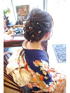 着物アップ♪派手過ぎず華やかに♪ 【BELL桜新町/用賀】