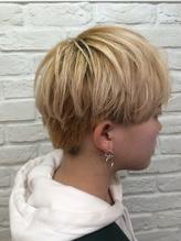 ベリーショートスタイル【ANKH CROSS表参道】.39