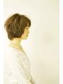 頭の形がきれいに見える☆ 小顔ショートヘア(飯塚 知美)