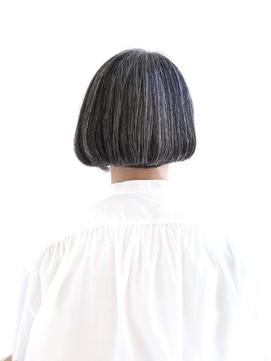 【えがお美容室】50代60代に人気◎似合わせショートバングボブ