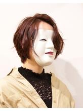 【coma中野】前髪長めの色気エッジショートくびれセミディ.19