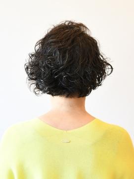 【えがお美容室】40代50代にオススメ☆ウェーブショートボブ