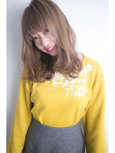 ニュアンスカールモテ髪セミロング.39