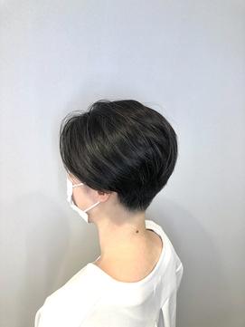 [20代・30代・40代大人女性] 上品刈り上げショート