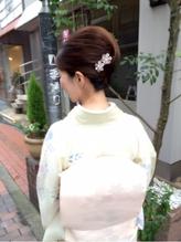 着物に合うアップスタイル♪ アップスタイル.16