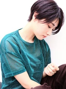 ダークプラムハンサムショート〔drop 表参道 青山〕